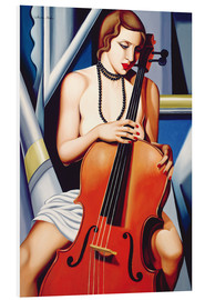 Forex  WOMAN WITH CELLO - Catherine Abel