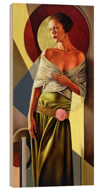 Wood print  Reflections of Grace, 2006 - Catherine Abel