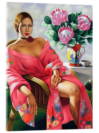 Acrylic print  Tea in the late afternoon - Catherine Abel