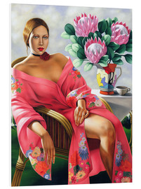 Foam board print  Tea in the late afternoon - Catherine Abel
