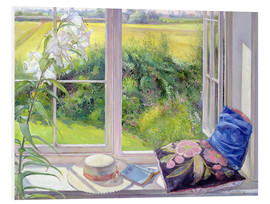 Foam board print  Reading window seat - Timothy Easton