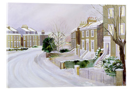 Acrylic print  Stockwell in the snow - Sarah Butterfield