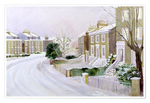 Premium poster Stockwell in the snow