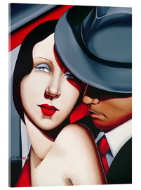 Acrylic glass  ADAM & EVE, Gangster Study - Catherine Abel