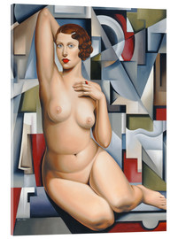 Catherine Abel - SEATED CUBIST NUDE