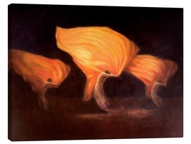 Canvas print  Chinese dancers, 2010 - Lincoln Seligman