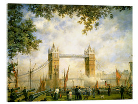 Acrylic print  Tower Bridge view from the Tower of London - Richard Willis