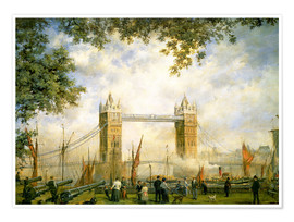 Poster  Tower Bridge: From the Tower of London - Richard Willis