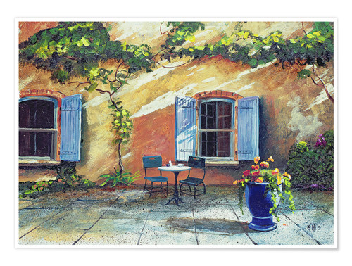 Premium poster Shutters, Provence, France, 1999