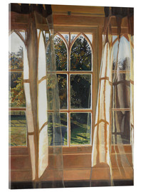 Acrylic print  The yellow window, 2013, - Helen White