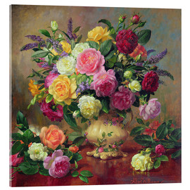 Albert Williams - Roses from a Victorian Garden