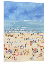 Foam board print  Beach - Judy Joel
