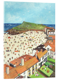 Acrylic print  View from the Tate Gallery St. Ives - Judy Joel