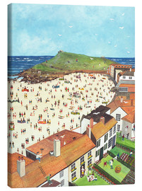 Canvas print  View from the Tate Gallery St. Ives - Judy Joel