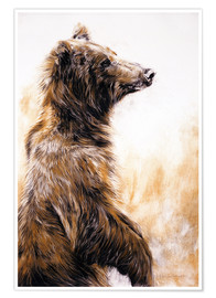 Premium poster  Grizzly Bear - Odile Kidd