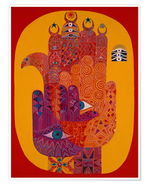 Poster Amulets, 1992