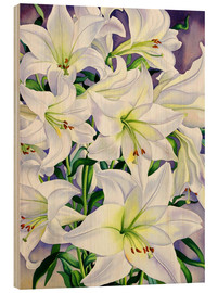 Wood  White Lilies, 2008 - Christopher Ryland