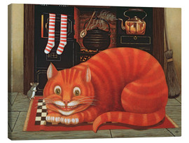 Canvas print  The Cheshire Cat - Frances Broomfield