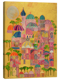 Canvas print  The Golden City - Laila Shawa