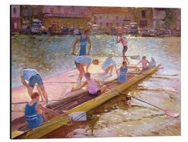 Alu-Dibond  When rowing - Timothy Easton