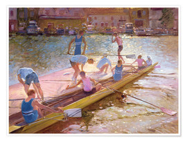 Poster  When rowing - Timothy Easton