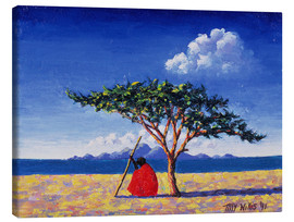 Canvas print  Under the acacia tree, 1991 - Tilly Willis