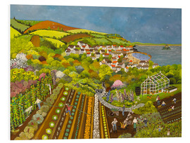 Forex  Allotment above Mousehole - Judy Joel