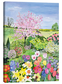 Canvas print  Spring from The Four Seasons - Hilary Jones