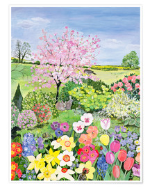 Premium poster  Spring from The Four Seasons - Hilary Jones