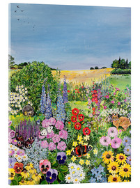 Acrylic print  Summer from