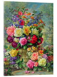 Acrylic print  Sweet Fragrance of a Summer's Day - Albert Williams