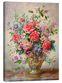 Canvas print  Homage to Her Majesty The Queen Mother - Albert Williams