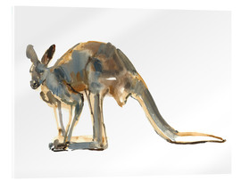 Acrylic print  Roo, side view - Mark Adlington