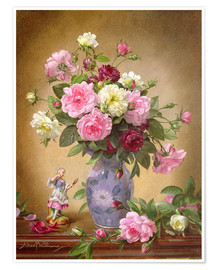 Premium poster  Romantic Roses of Yesteryear - Albert Williams