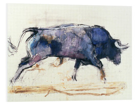 Foam board print  Charging bull - Mark Adlington