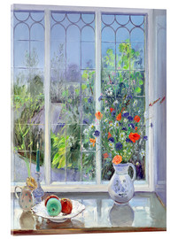 Acrylic glass  Still life in the window - Timothy Easton