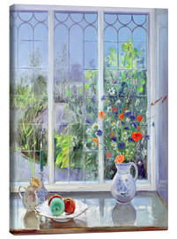 Canvas  Still life in the window - Timothy Easton