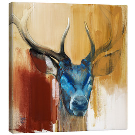 Canvas print  Head of a deer - Mark Adlington
