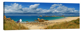 Canvas print  Panorama Brittany coast - Monika Jüngling