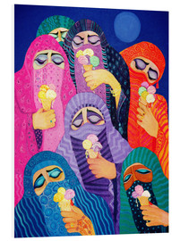 Foam board print  The impossible dream, 1989 - Laila Shawa