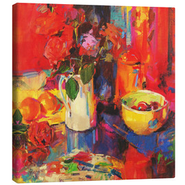 Canvas  Candy Roses - Peter Graham