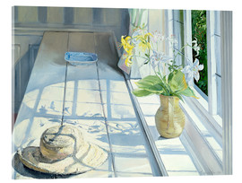 Acrylic glass  Still life in front of the window - Timothy Easton