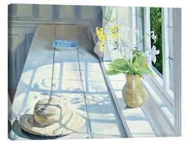 Canvas print  Still life in front of the window - Timothy Easton