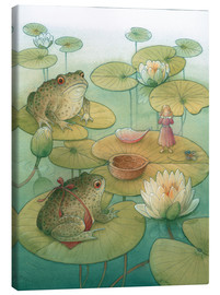 Canvas print  Thumbelina and the frogs, 2005 - Kestutis Kasparavicius