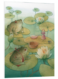 Foam board print  Thumbelina and the frogs, 2005 - Kestutis Kasparavicius