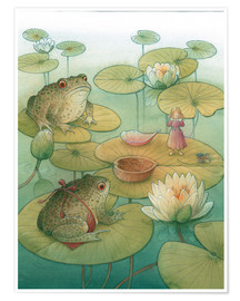 Premium poster Thumbelina and the frogs, 2005