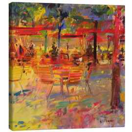 Canvas print  Lunch on the terrace - Peter Graham