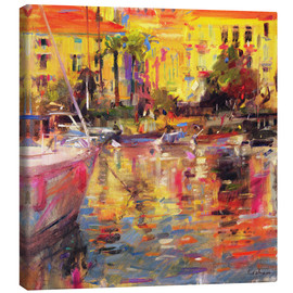 Canvas print  Morning in the Riviera - Peter Graham