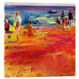 Acrylic print  Beach scene - Peter Graham
