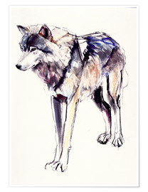 Poster  Alpha Wolf - Mark Adlington
